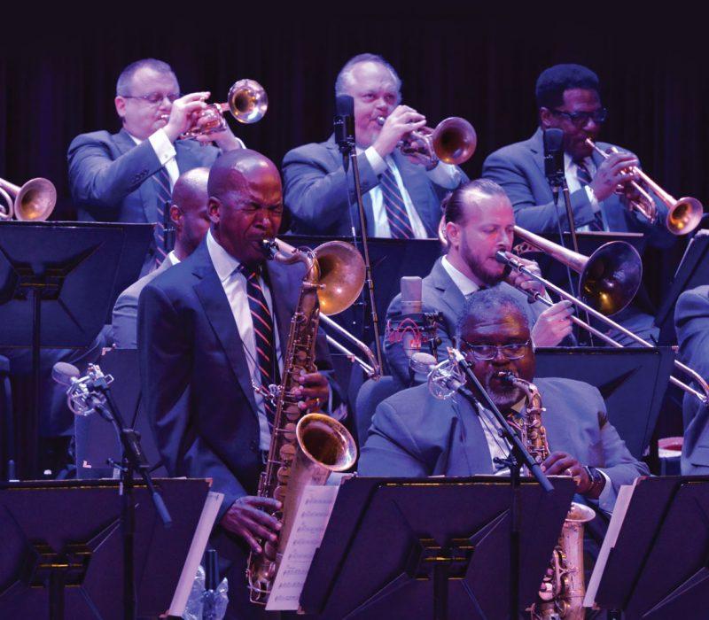 Greg Tardy playing saxophone