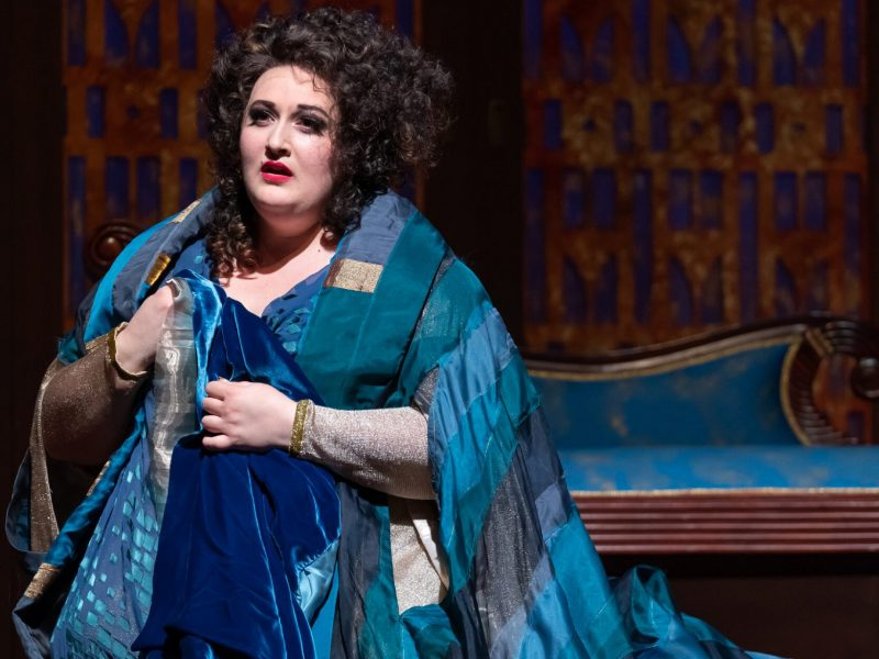 Alexandria Shiner playing Ariadne in Ariadne auf Naxos- Photo: Scott Suchman