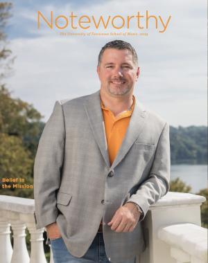 Noteworthy Magazine cover - Eric Barton